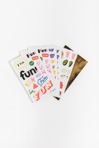 fun planner stickers