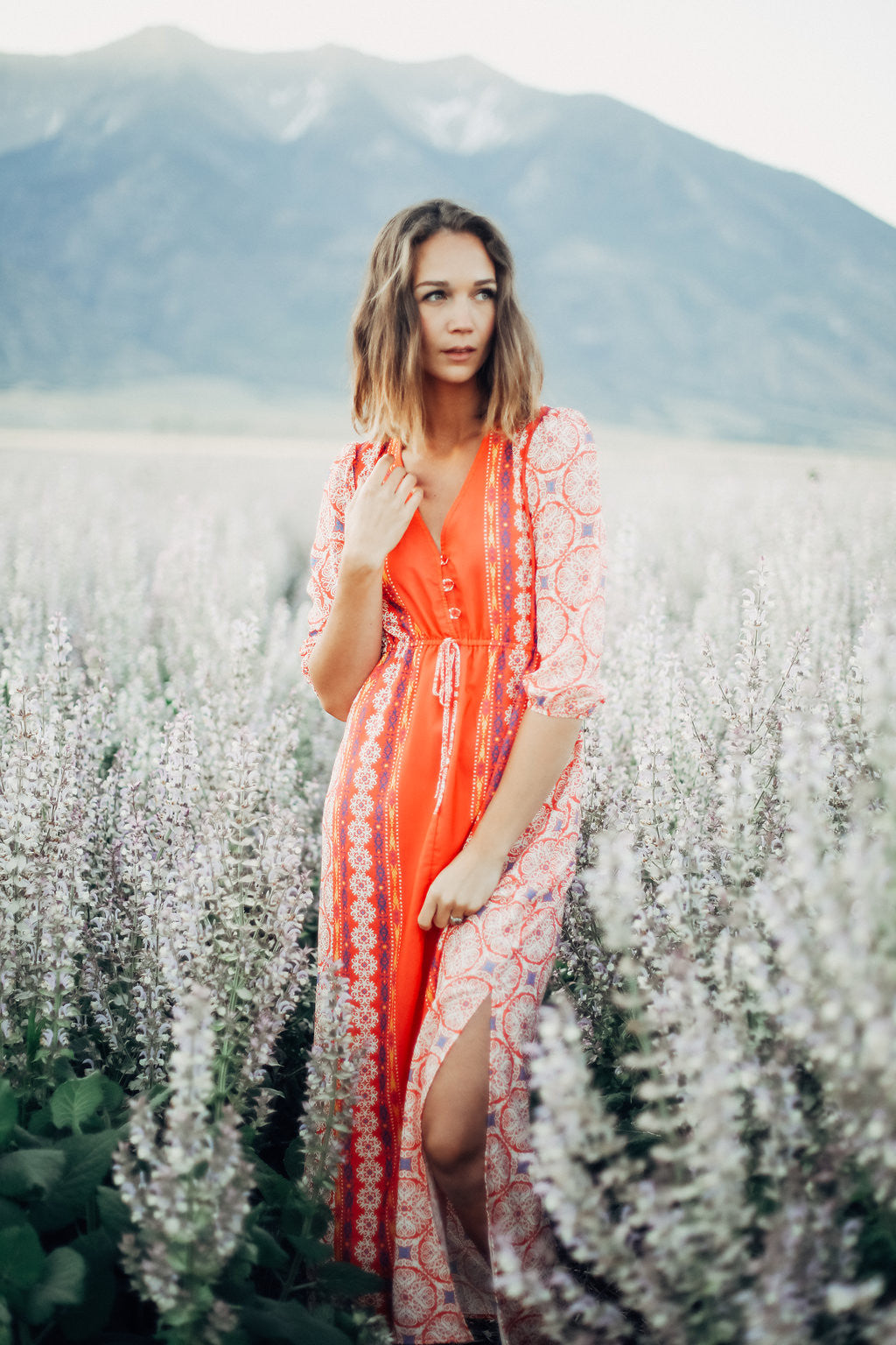 Piper & Scoot: The Poppy Moroccan Maxi Dress