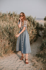 The Elliot Denim Overall Dress
