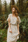 Piper & Scoot: The Epic Floral Empire Dress in Dandelion