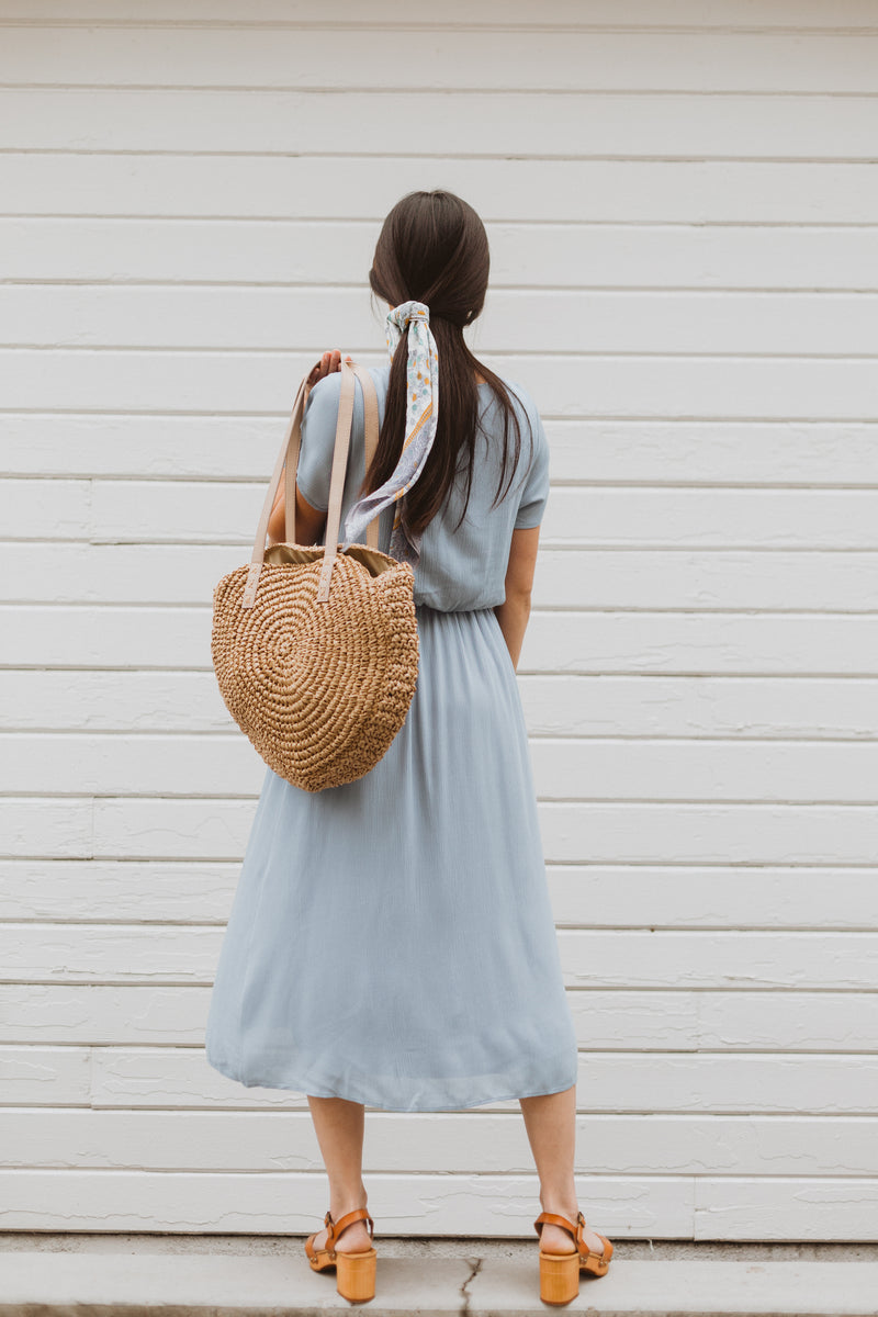 The Derby Dress in Periwinkle