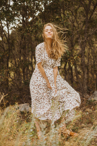 Piper & Scoot: The Intense Delicate Detail Dress in Cream