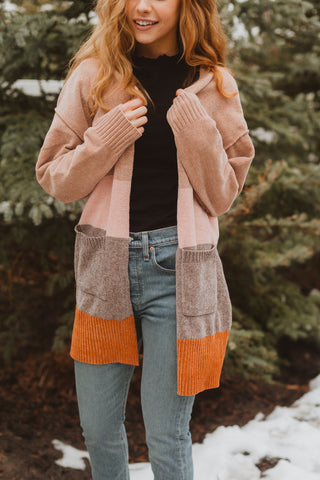 The Sims Sherpa Jacket in Rose