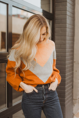 The Truly Pom Knit Sweater in Cream