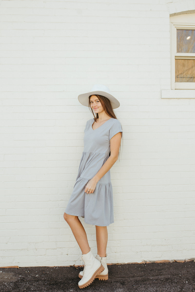 The Wilson Casual Dress in Blue
