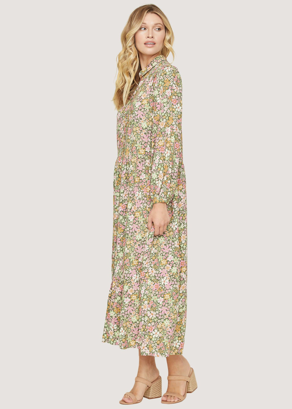 The Getaway Island Maxi Dress in Floral