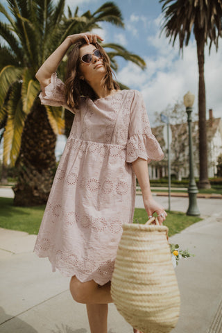 The Sun Valley Jumper Dress in Taupe