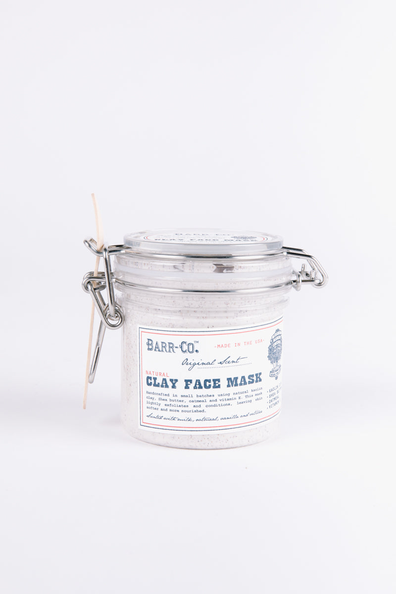 HOME: Barr-Co. Clay Face Mask in Original