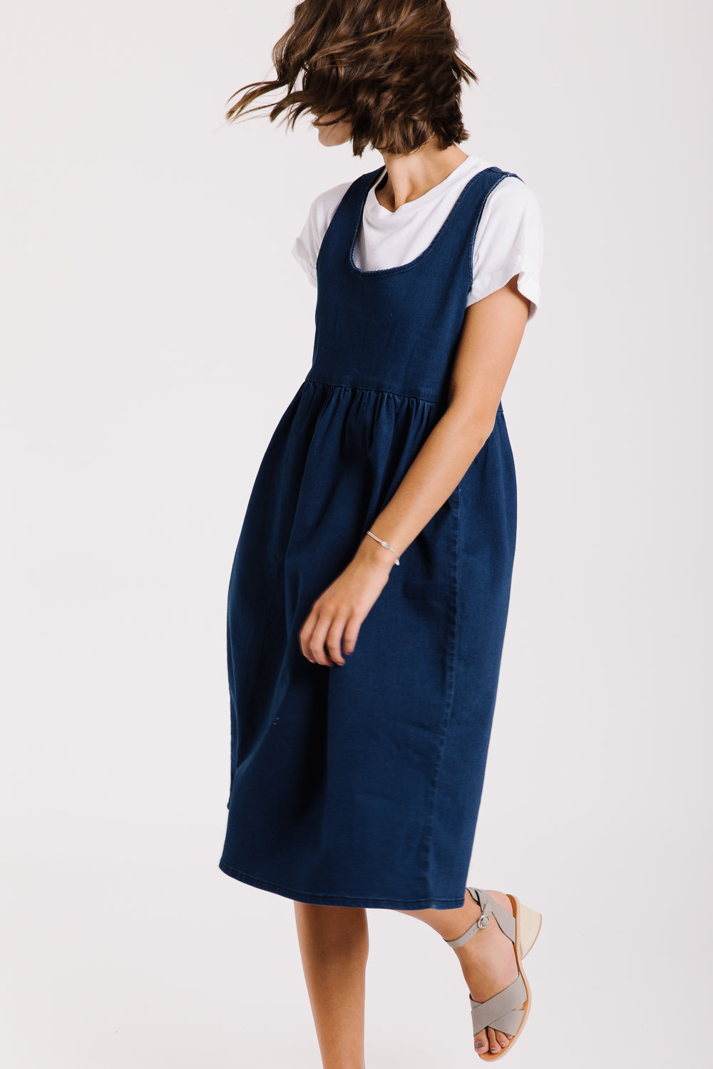 fc223d41398 Piper   Scoot  The Samantha Denim Jumper Dress