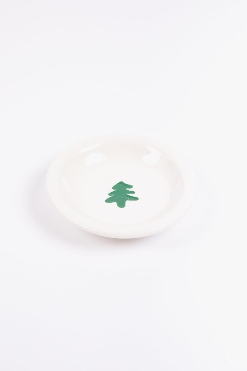 "HOLIDAY: 5"" Tree Dish"