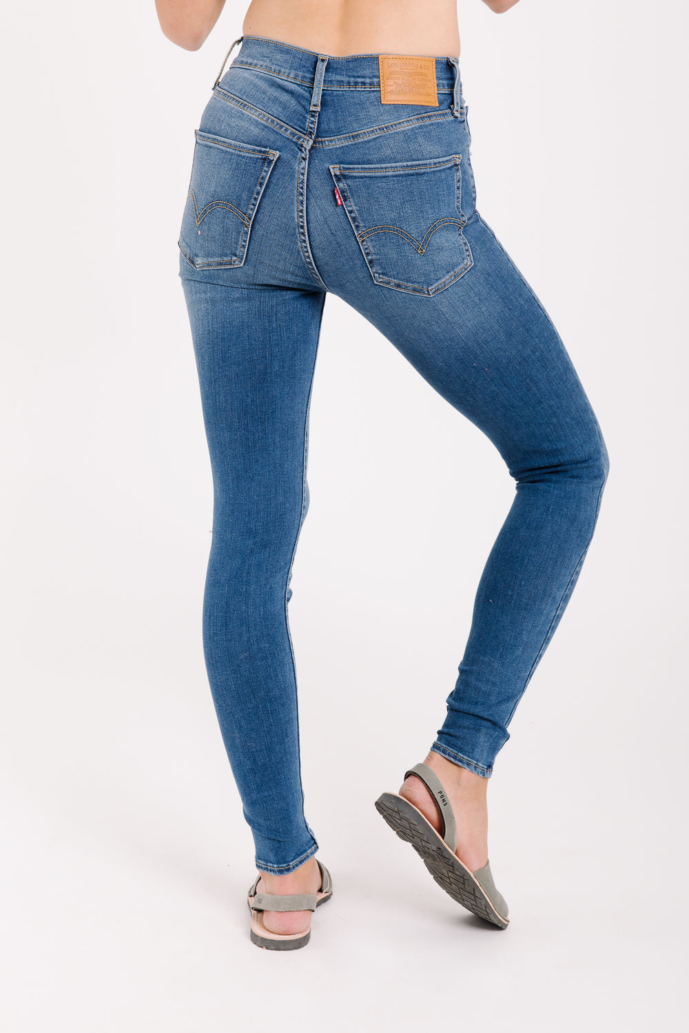 Levi's: Mile High Super Skinny Jeans in Shut The Front Door