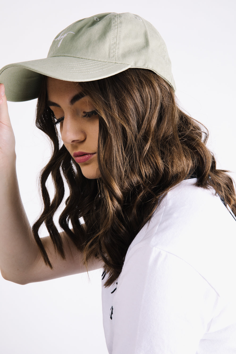 Piper & Scoot: The hey. Cap in Faded Olive