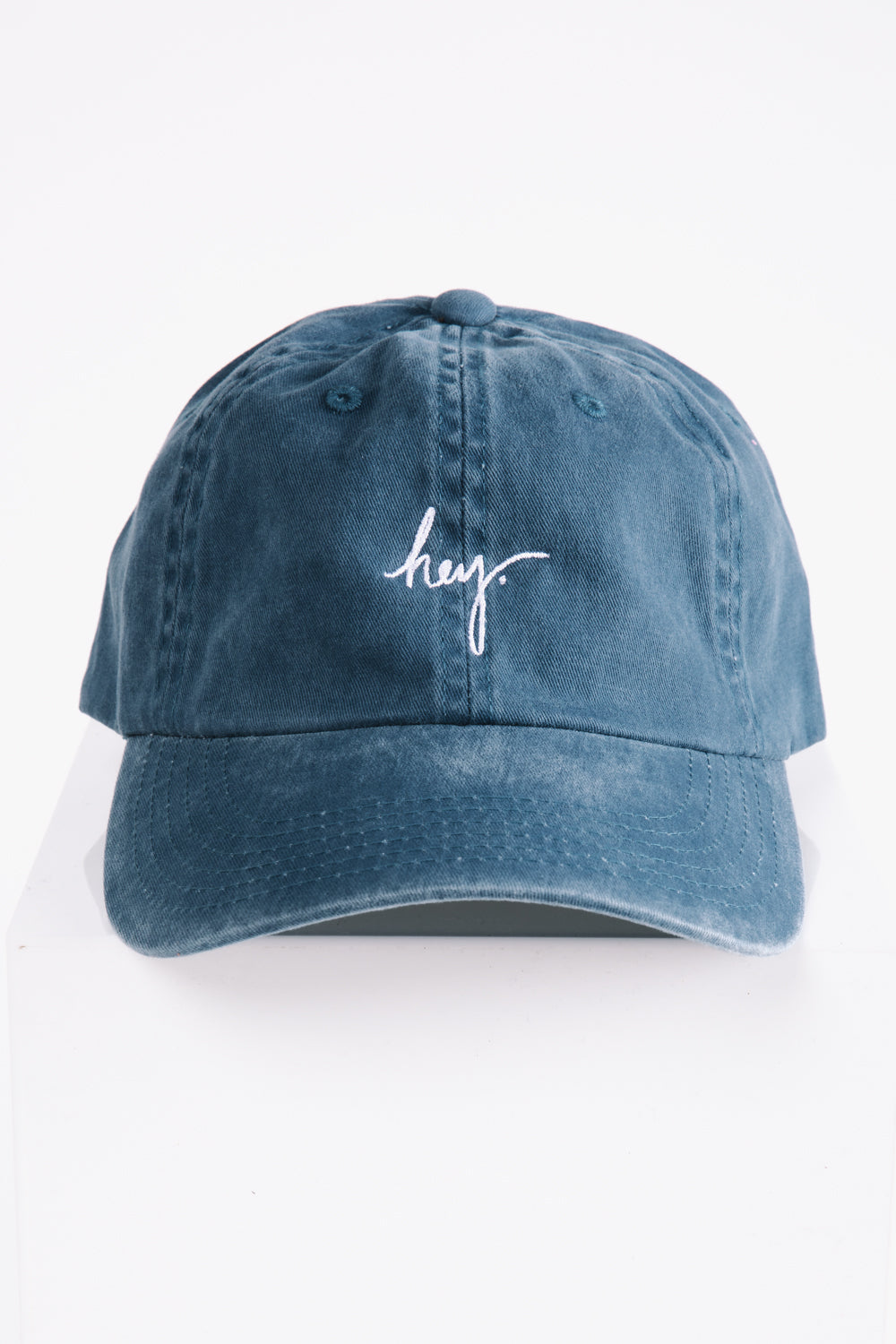 Piper & Scoot: The hey. Cap in Steel Blue