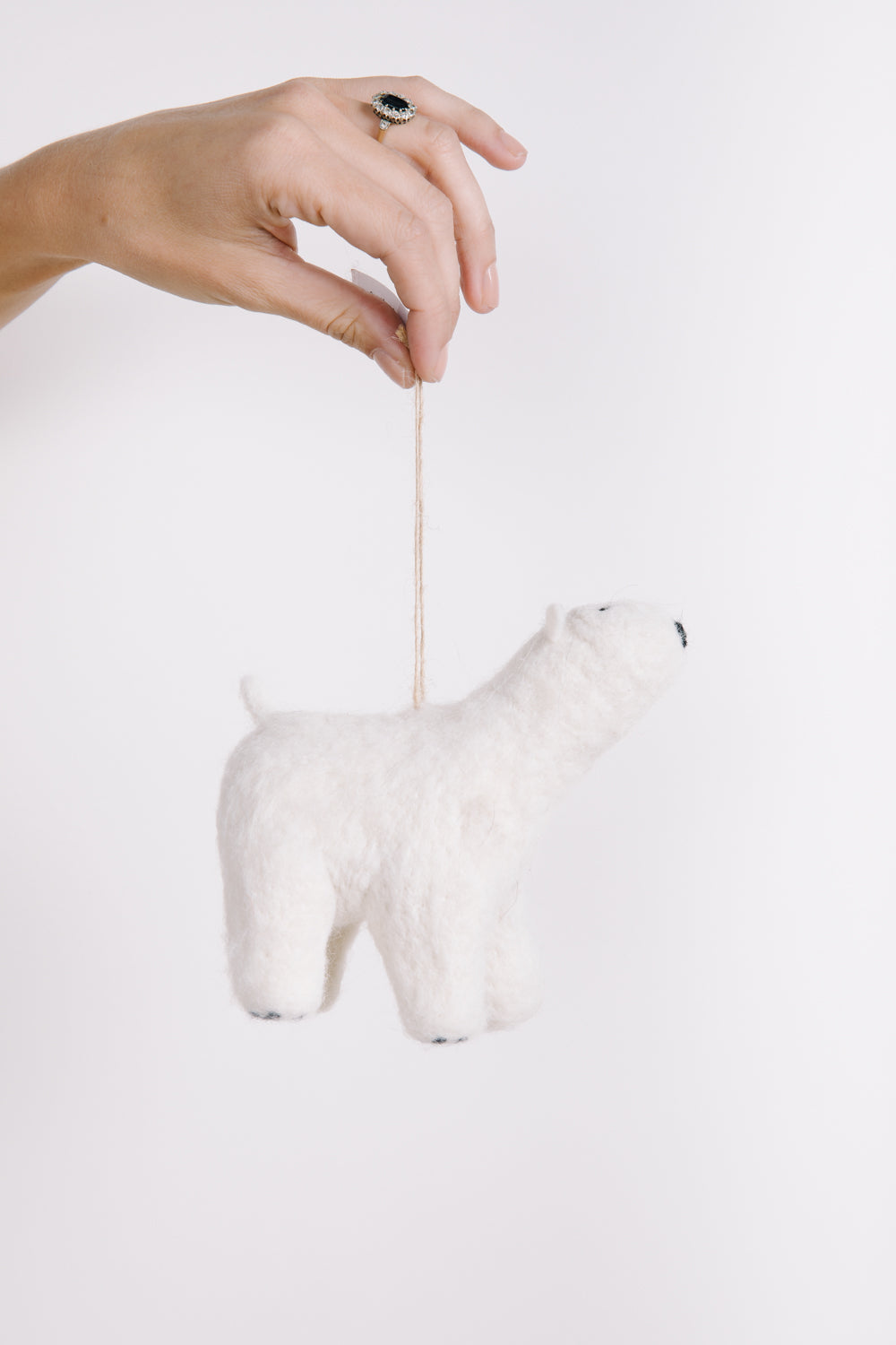 HOLIDAY: Polar Bear Felt Ornament