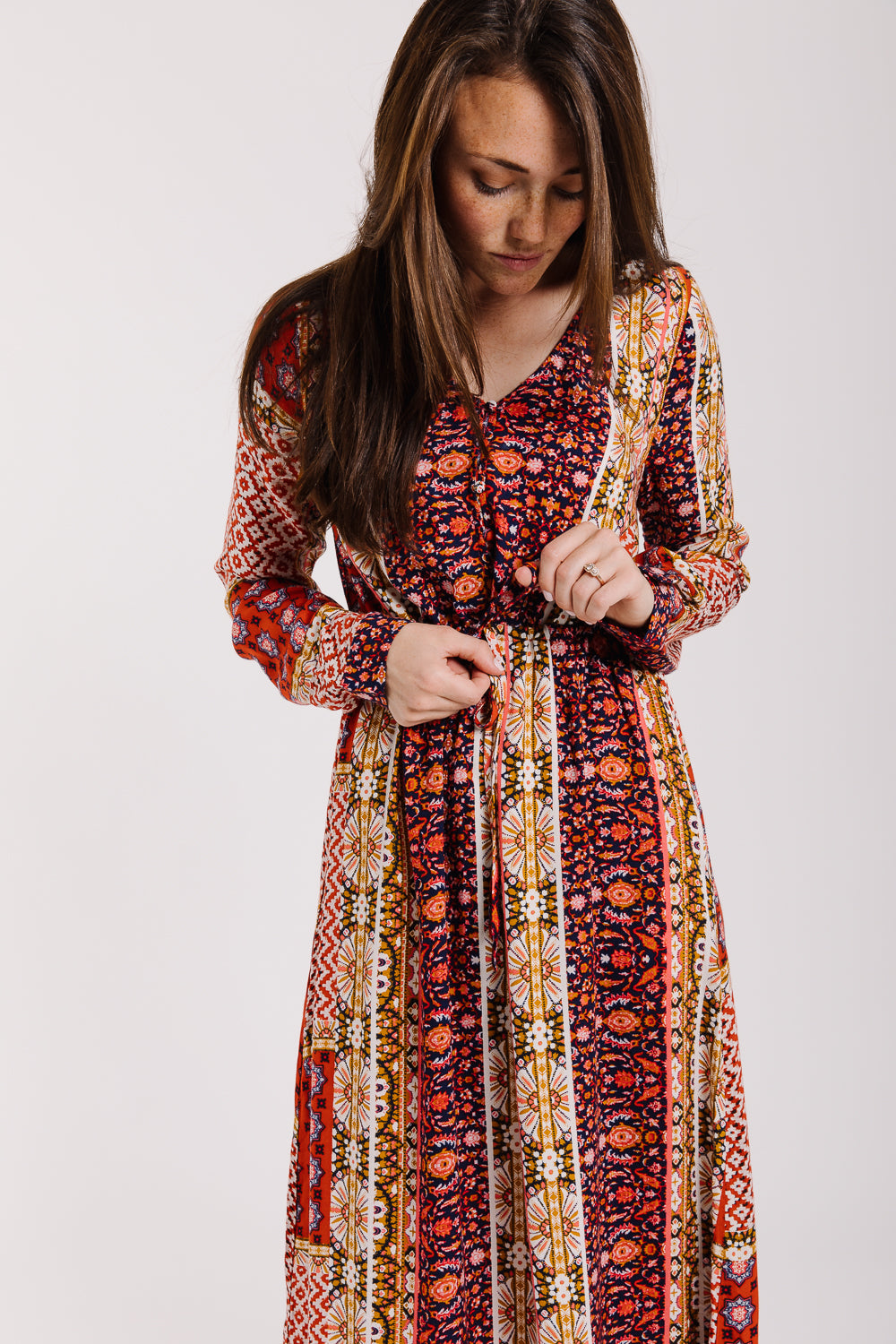 The Fields Patterned Maxi Dress