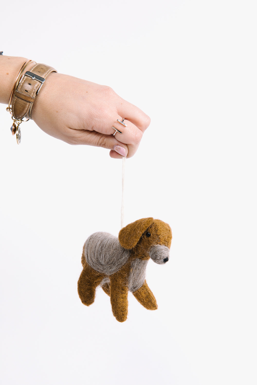 HOLIDAY: Christmas Livie Lab Felt Ornament