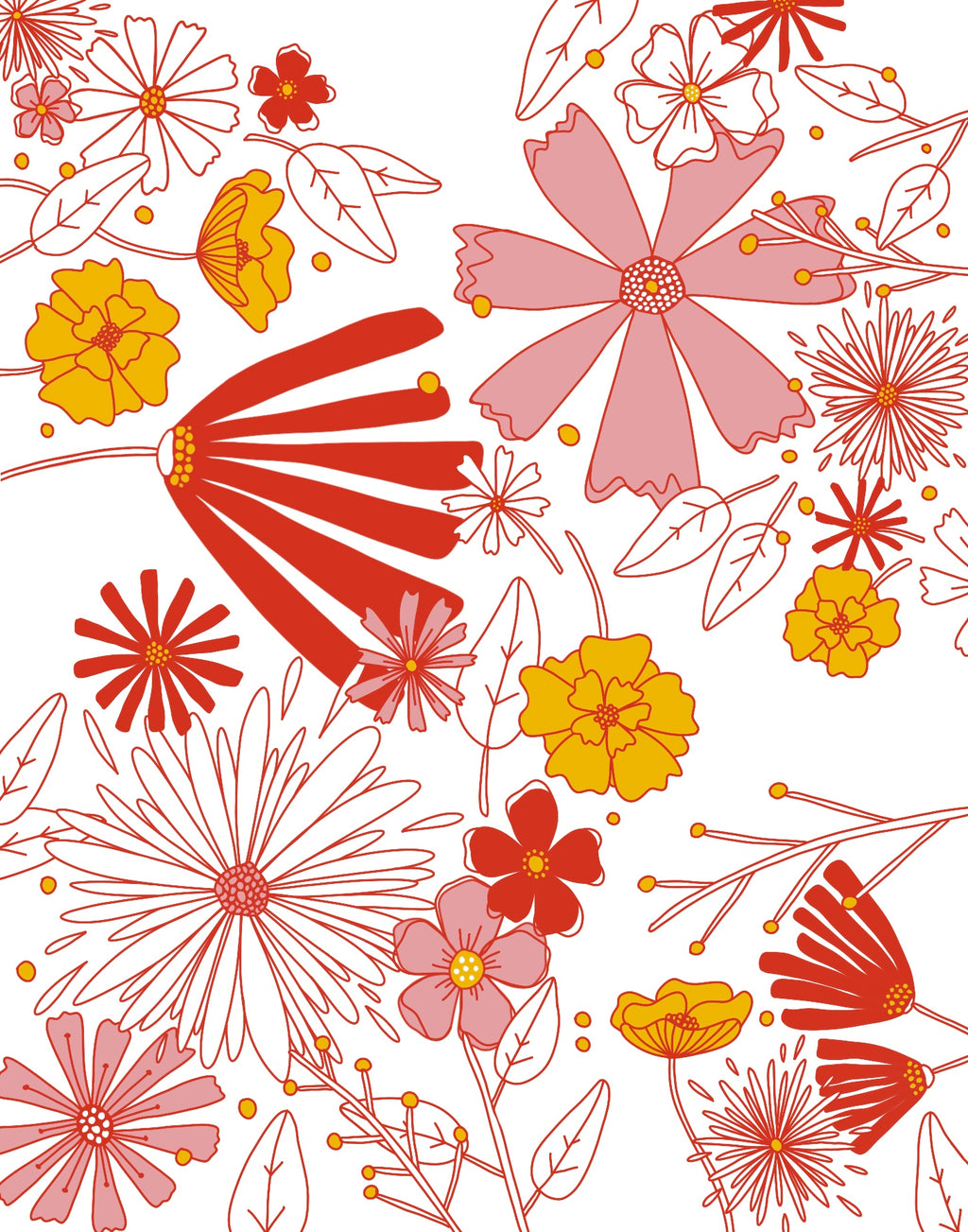 FREE DOWNLOAD: Flower Print