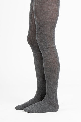 Line Dot Tulle Sheer Crew Sock in Sheer