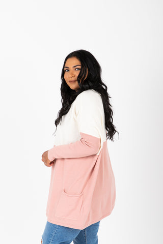 The Estelle Cozy Knit in Pastel