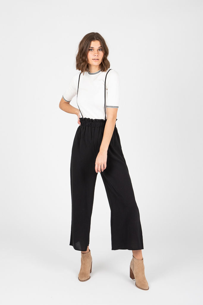 Piper & Scoot: The Tea Jumper Trouser in Black