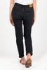 Levi's: 501 Skinny Jeans in Busted Black