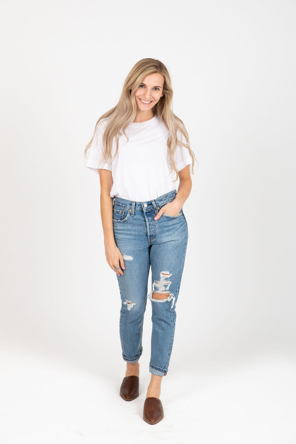 Levi's: 501 Skinny Jeans in Nice As Pie