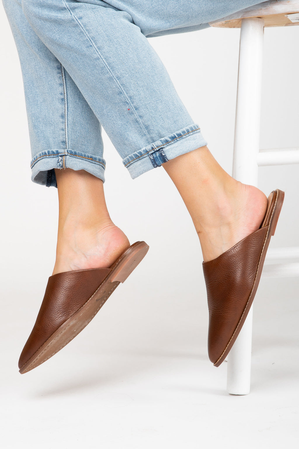 BC by Seychelles: Impersonate Slide Mule in Brown