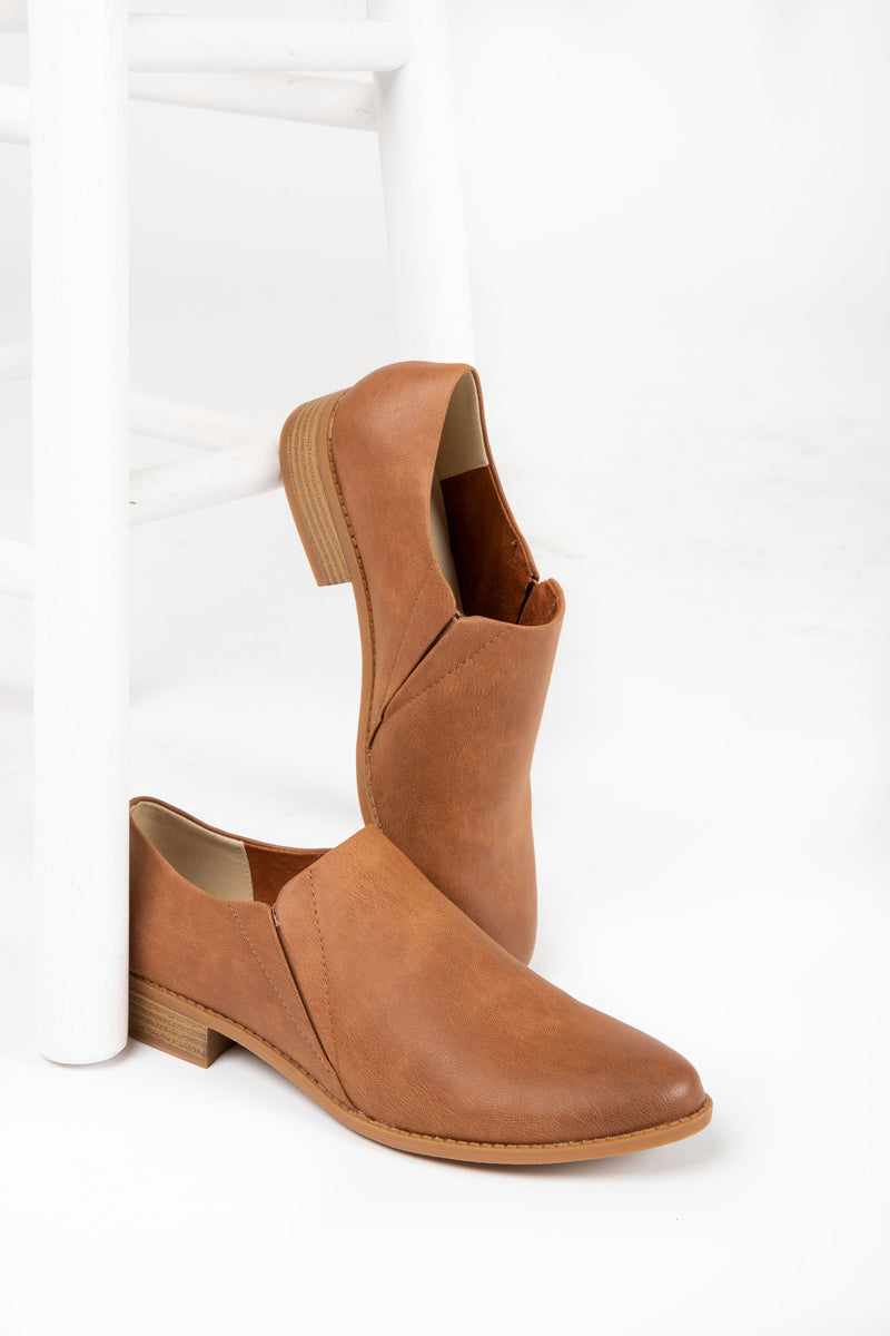 BC by Seychelles: Loud and Proud Bootie in Cognac