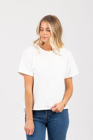 Piper & Scoot: The Tee in White