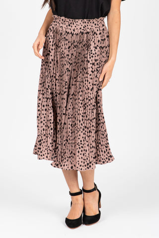 The Haskell Floral Contrast Maxi Dress in Black