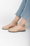 Birkenstock: Yao Birko-Flor in White Narrow Fit