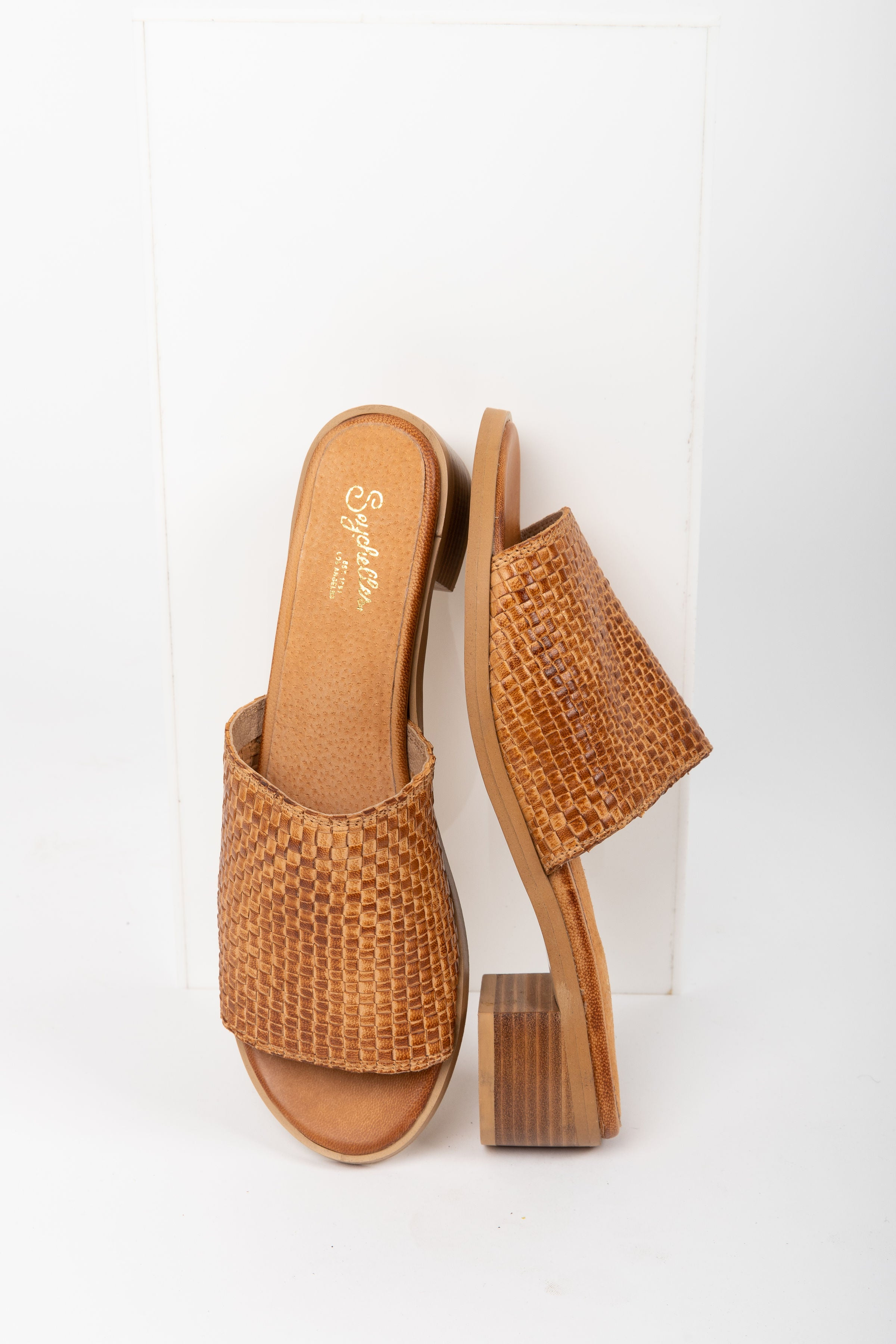 Seychelles: Hard to Find Mule Sandal in Tan Leather