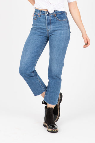 Levi's: Wedgie Fit Straight Jeans in Jive Tone