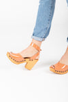 Free People: Pasadena Clog in Rose