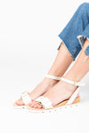 Kelsi Dagger: Arlo Ivory Flat in Cloud