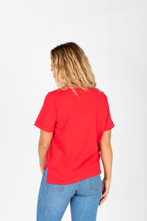 Piper & Scoot: The Tee in Red