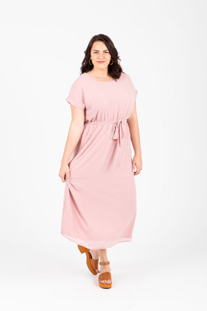 Piper & Scoot: The Lauren Empire Dress in Blush