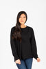 Piper & Scoot: The Crew Long Sleeve in Black