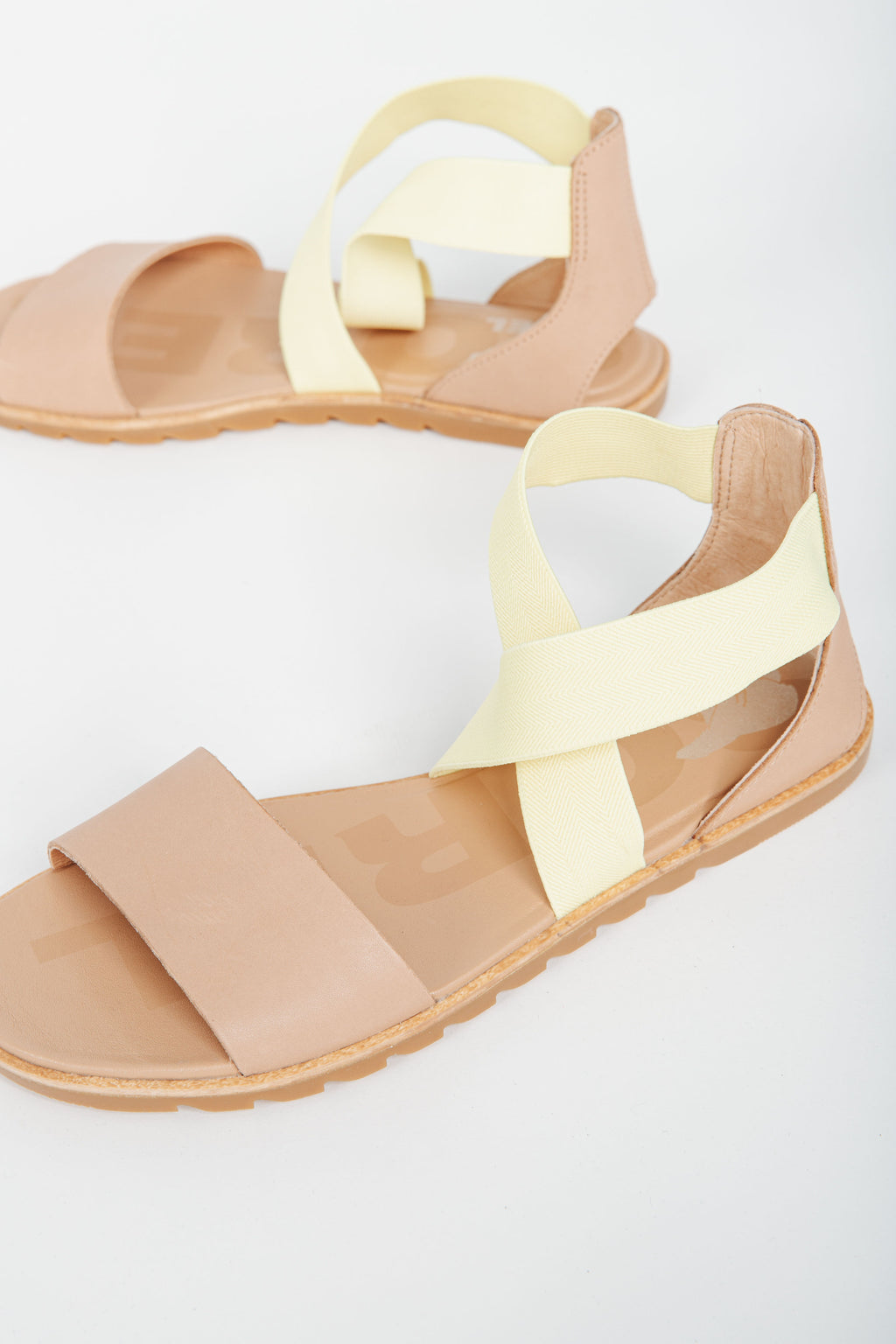 SOREL: Ella Sandal in Sunnyside Tan