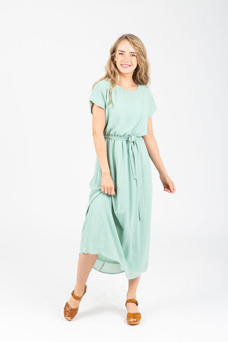 The Derby Dress in Sage