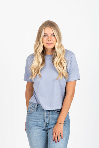Piper & Scoot: The Tee in Blue