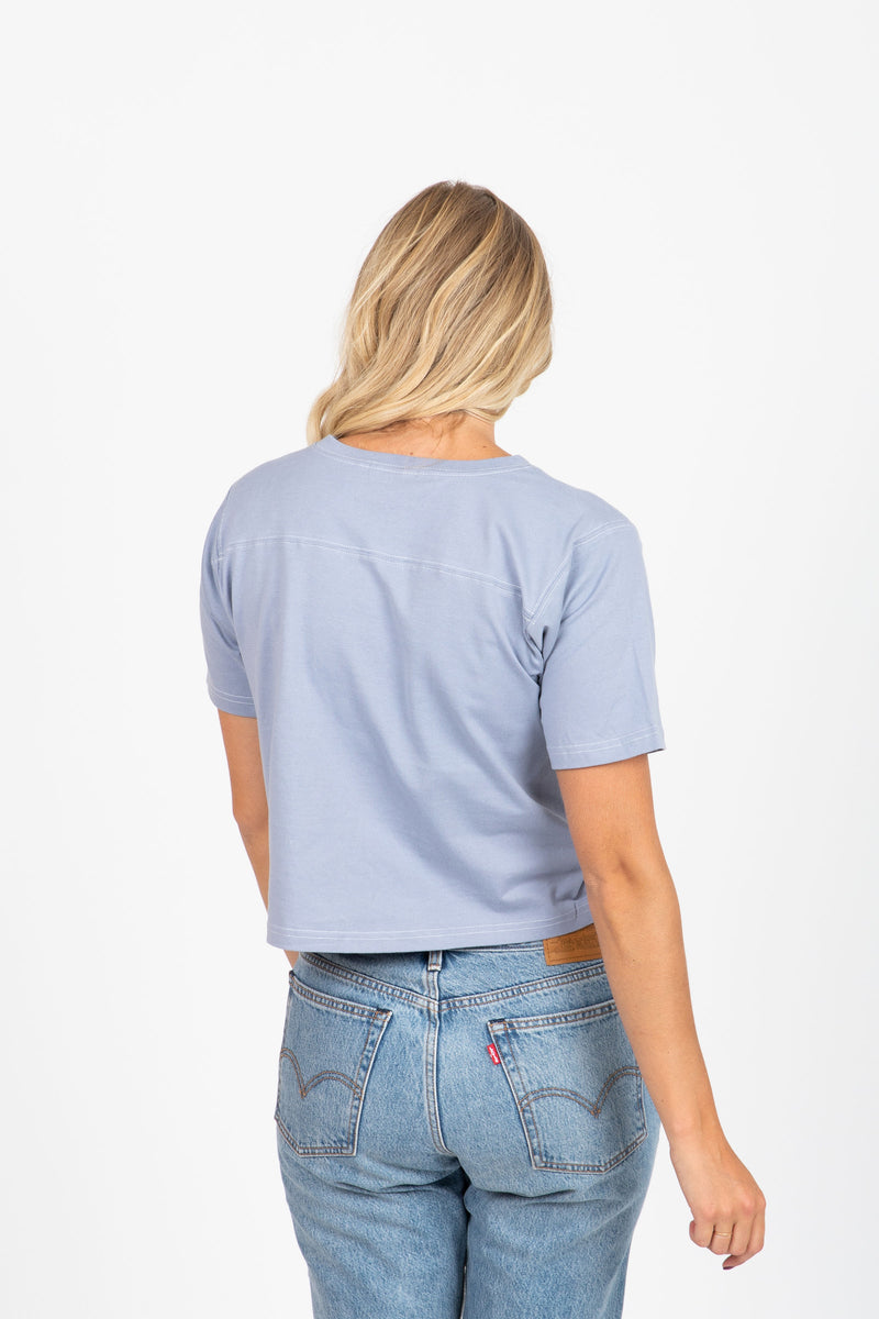 The Dustin Tee in Periwinkle