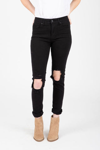 Levi's: Mile High Super Skinny Button Front Jeans in Love Shack Baby