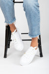 Keds: Triple Up Leather in White