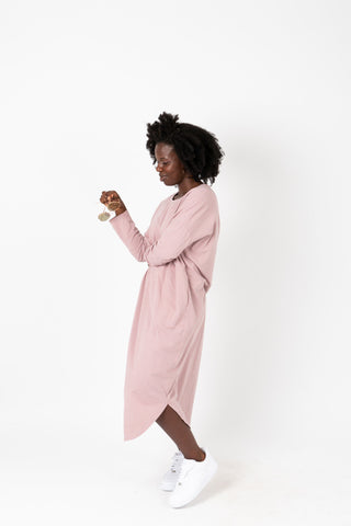 Piper & Scoot: The Alida Dress in Brun