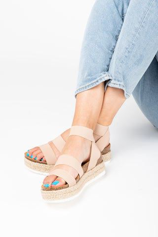 Coconuts by Matisse: Wilma Sandal in Tan/White