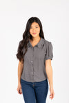 The Drexel Shirt in Grey Plaid