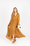 The Bruns Tiered Maxi Dress in Cocoa