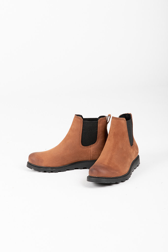 Sorel: Ainsley Chelsea Boot in Burro