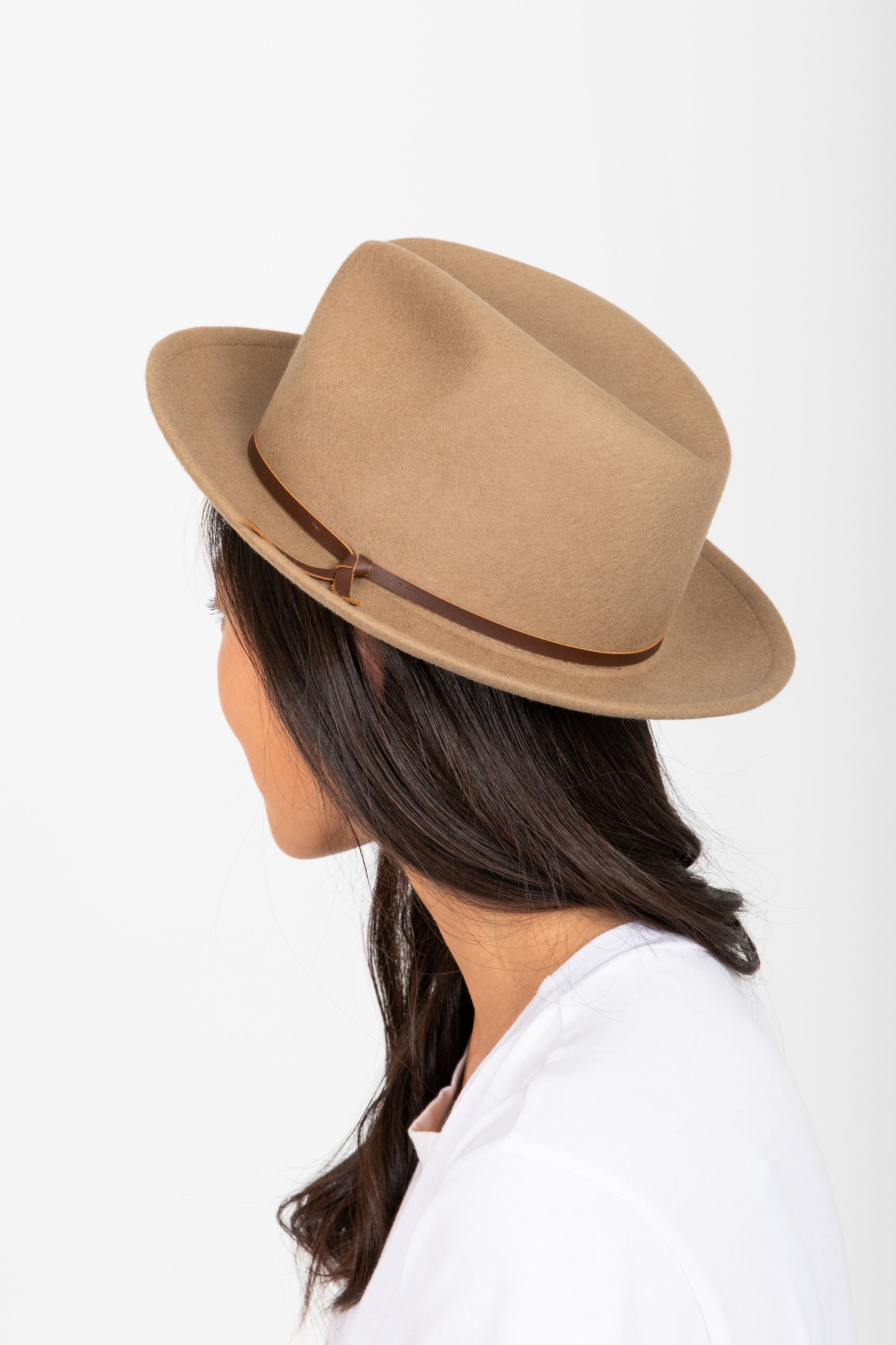 604f8ac35 Hat No. 25: Luke Fedora in Putty